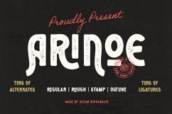 Arinoe Font Product Image 1