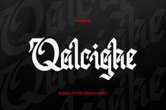 Qalcighe Font Product Image 1