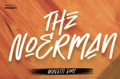 The Noerman - Graffiti font Product Image 1