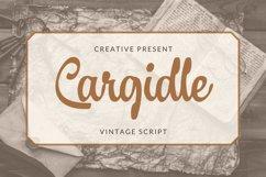 Cargidle Font Product Image 4