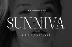 Sunniva Font Product Image 2