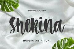Shekina Font Product Image 1