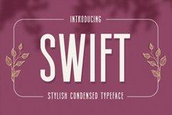 Swift - Stylish Condensed Typeface Product Image 1
