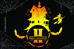 House Halloween Monogram Product Image 1