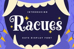 Racues Font Product Image 1
