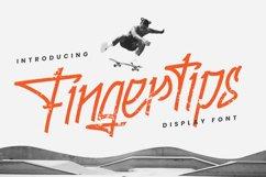 Fingertips - A Graffiti Font Product Image 1
