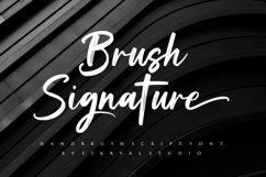 Brush Signature - Handbrush Font Product Image 1