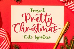 Pretty Christmas - Cute Typeface Font Product Image 1