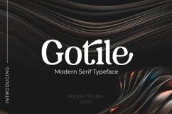 Gotilev- Serif Typeface Product Image 1