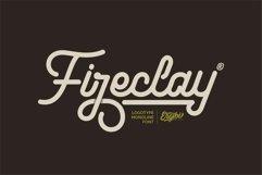 Fireclay - Logotype Monoline Product Image 1