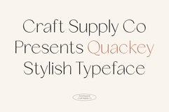 Quackey - Stylish Typeface Product Image 1