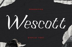 Wescott Font Product Image 1