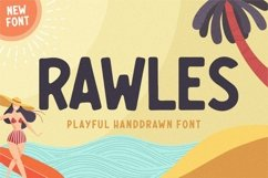 RAWLES Playful Handdrawn Font Product Image 1