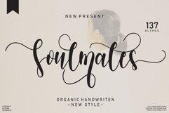 Soulmates   handwritten font Product Image 1