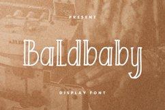 Baldbaby Font Product Image 1