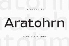 Aratohrn Font Product Image 1