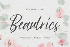 Beautrics Font Product Image 1