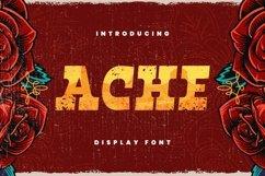 Ache Font Product Image 1