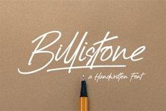 Billistone A Handwritten Font Product Image 1