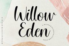 Willow Eden Modern Handwritten Font Product Image 1