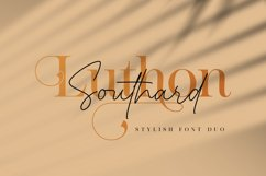 Luthon Southard - Font Duo Product Image 1
