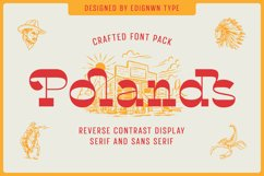 Polands - Display Font Product Image 1