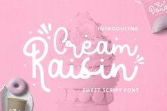 Web Font Cream Raisin Font Product Image 1