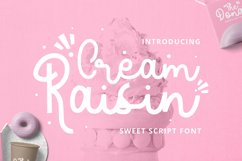 Cream Raisin Font Product Image 1