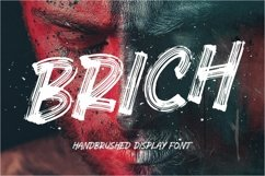 Brich Display Font Product Image 1