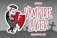 Vampire Liker - Halloween Font Product Image 1