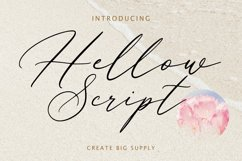 Hellow Script Product Image 1