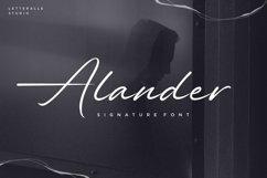 Alander Script Font Product Image 1