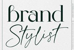 Brand Stylist // Modern Script font Product Image 1