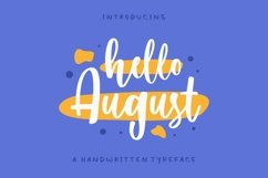 Hello August Product Image 1