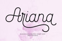 Ariana Script Product Image 1