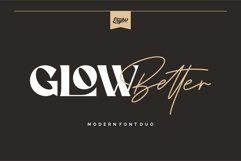 Glow Better - Modern Font Duo Product Image 1