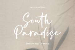 South Paradise - Handwritten Font Product Image 1