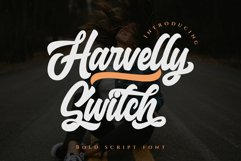Haverlly Switch - Bold Script Product Image 1
