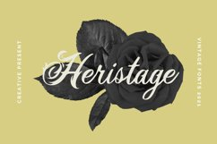 Heristage Font Product Image 1
