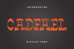 Cadfael Font Product Image 4