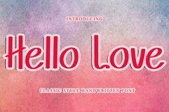 Hello Love Reguler / Sans Serif Product Image 1