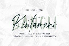 Bangli Kintamani 8 Handwritten Fonts Product Image 1