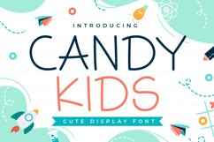 Candy Kids - Cute Display Font Product Image 1