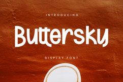 Buttersky Font Product Image 1