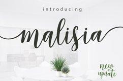 Malisia Script Product Image 1