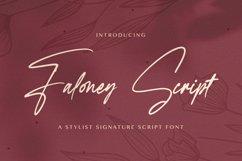 Faloney Script - Handwritten Font Product Image 1