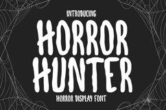 Horror Hunter- Horror Display Font Product Image 1