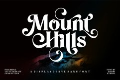 Mount Hills - Display Curve Product Image 1