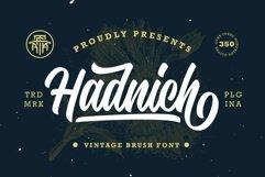 Hadnich - Modern Script Product Image 1
