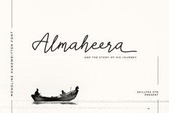 Almaheera - modern monoline font Product Image 1
